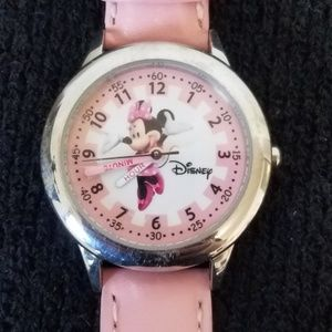 Disney Baby Pink Minnie Mouse Watch